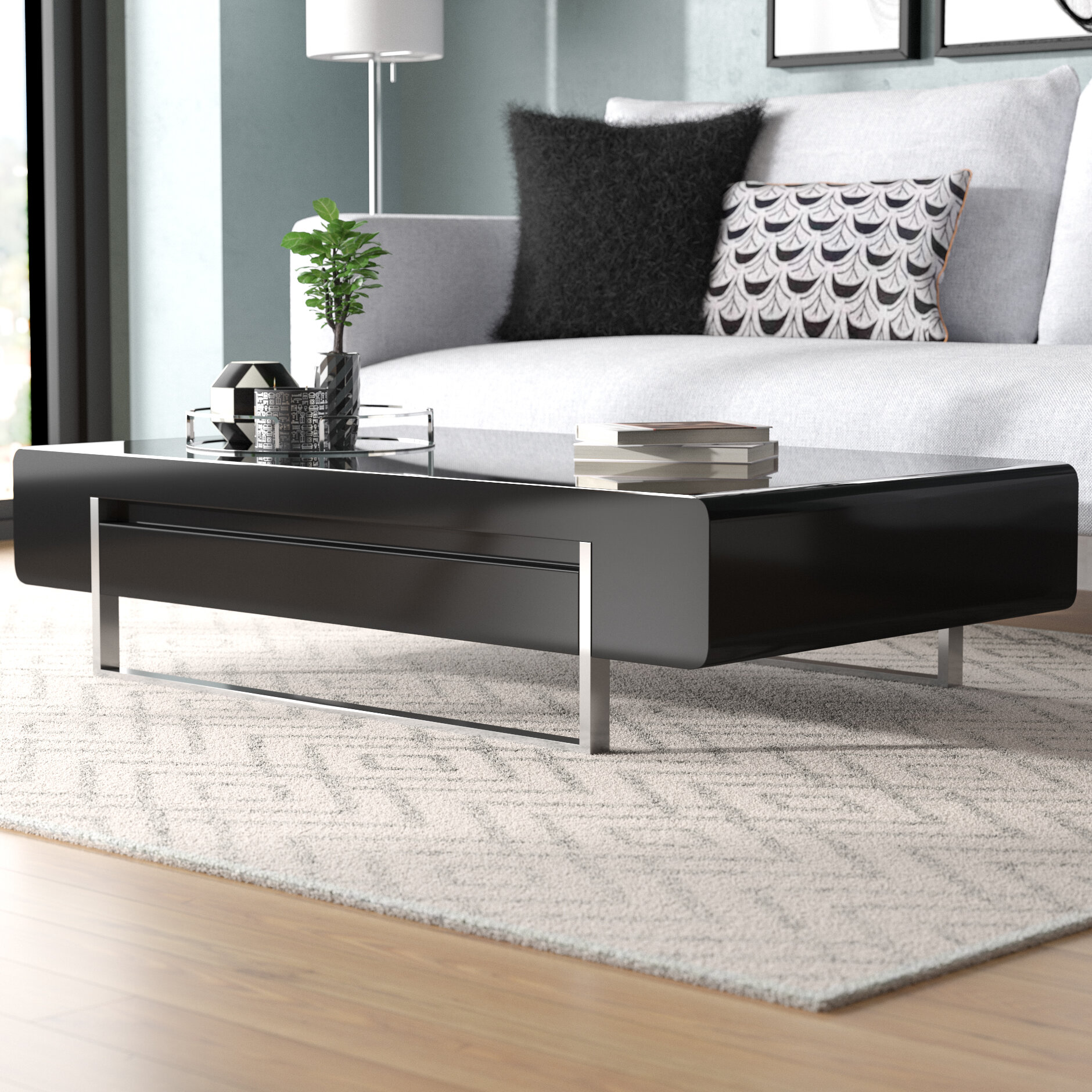 Orren Ellis Griner Modern Coffee Table