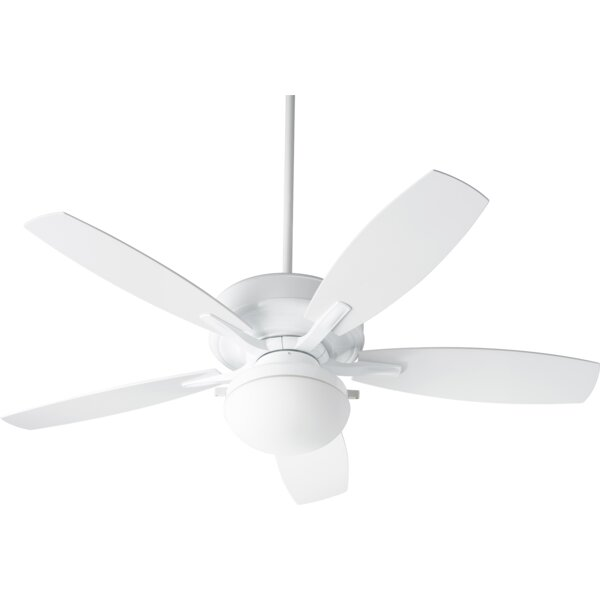 Melina 60 Pollman 5 Blade Outdoor LED Ceiling Fan by Alcott Hill