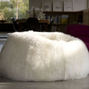 Pure Rugs Patagonia Sheepskin Bean Bag Chair