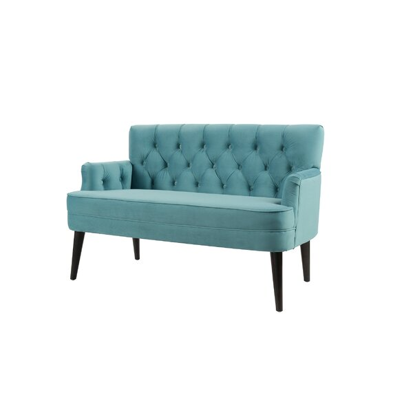 Mcgrady Tufted Accent Settee by House of Hampton