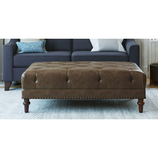 Luciano Tufted Cocktail Ottoman by Alcott Hill