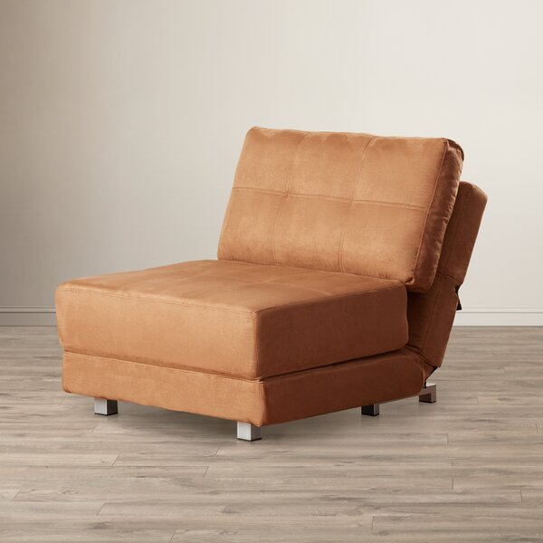 Hersey Convertible Chair by Ebern Designs Ebern Designs