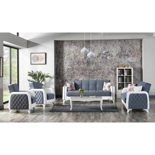 Amancio 4 Piece Sleeper Living Room Set by Orren Ellis