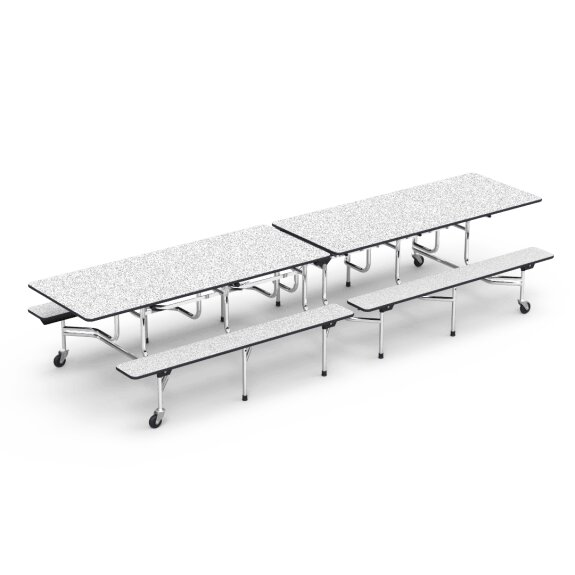 MT Series 144 x 54 Rectangular Cafeteria Table by