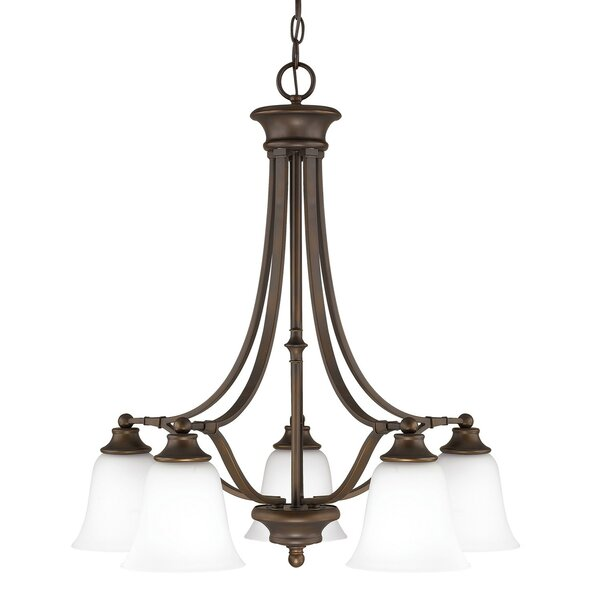 Lindenwood 5 - Light Unique / Statement Classic / Traditional Chandelier by Charlton Home Charlton Home