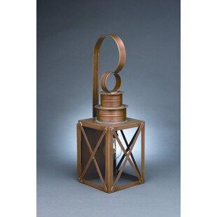 Best Suffolk 1-Light Outdoor Wall Lantern By Northeast Lantern