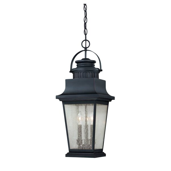 Covarrubias 3-Light Outdoor Hanging Lantern by Darby Home Co