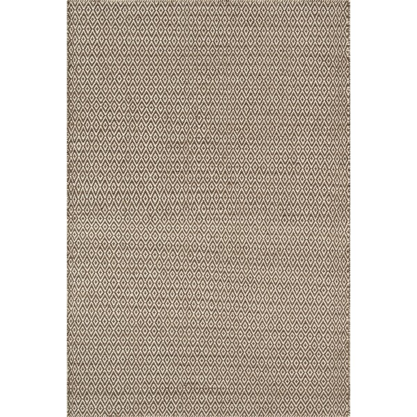Brooklington Handwoven Flatweave Wool Brown Area Rug by Bungalow Rose