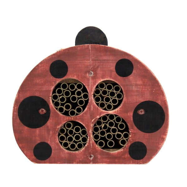 Oates Ladybug Solitary Bee House by Tucker Murphy Pet