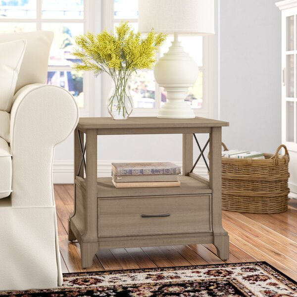 Maltby Side Table by Three Posts