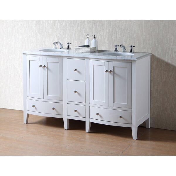 Gosnold 60 Double Bathroom Vanity Set by Winston Porter