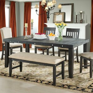 Ilana Extendable Dining Table by Loon Peak
