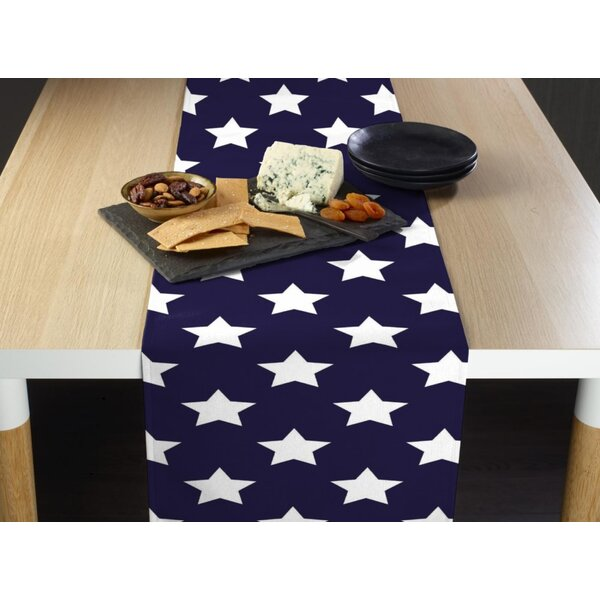 Epling Freedom Stars Milliken Signature Table Runner by The Holiday Aisle