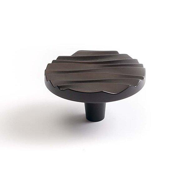 Wave Round Knob by Du Verre Hardware