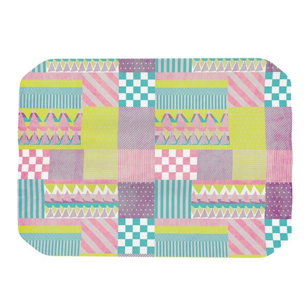 Patchwork Placemat by KESS InHouse