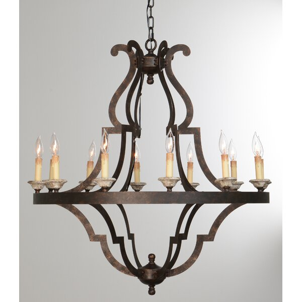 Marie 12-Light Empire Chandelier by Bay Isle Home