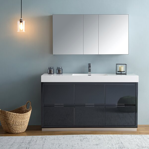 Senza Valencia 60 Single Bathroom Vanity Set by Fresca