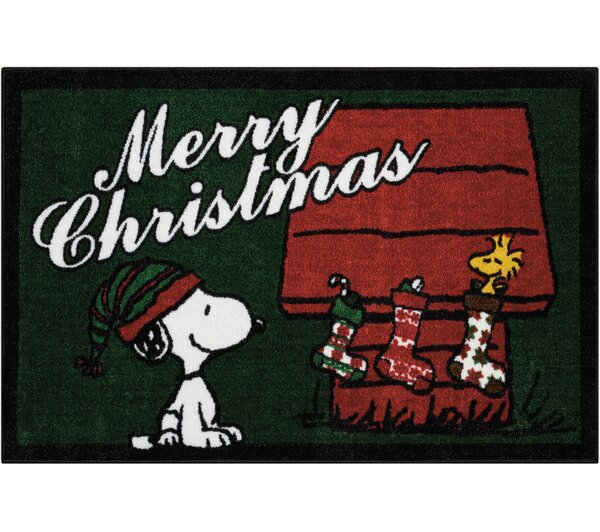 Peanuts Buddies Green Area Rug by Nourison