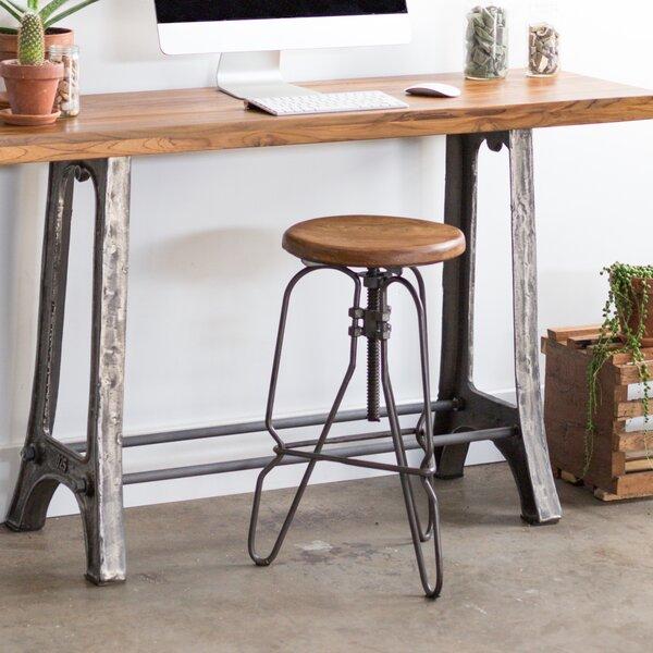 Adjustable Height Swivel Bar Stool by Wildon Home®