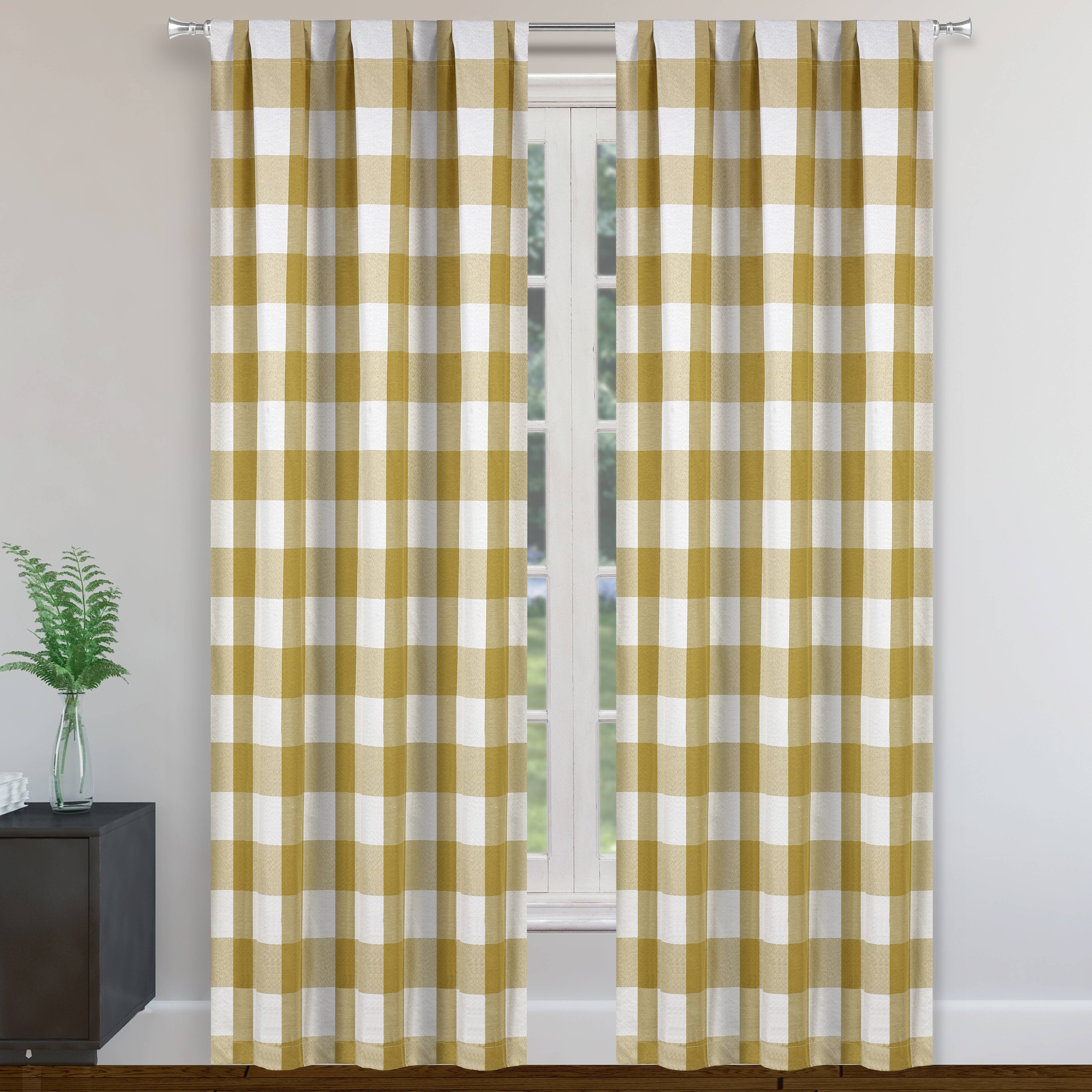 Country Orange Blackout Curtains You Ll Love In 2021 Wayfair