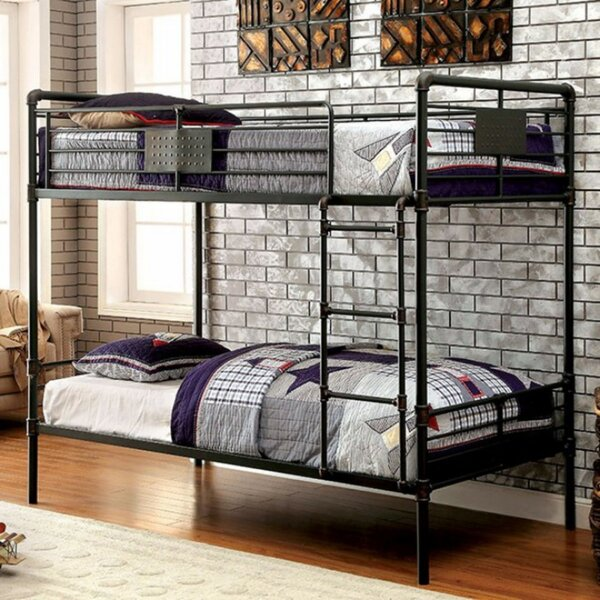 Harpersfield Twin over Twin Bunk Bed by Zoomie Kids