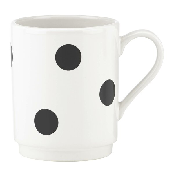 All in Good Taste Deco Dot Mug by kate spade new york