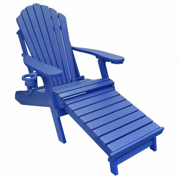 Haywards Poly Lumber Plastic Folding Adirondack Chair By August Grove