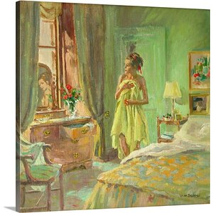 'Louise' by William Ireland Painting Print on Wrapped Canvas by Great Big Canvas