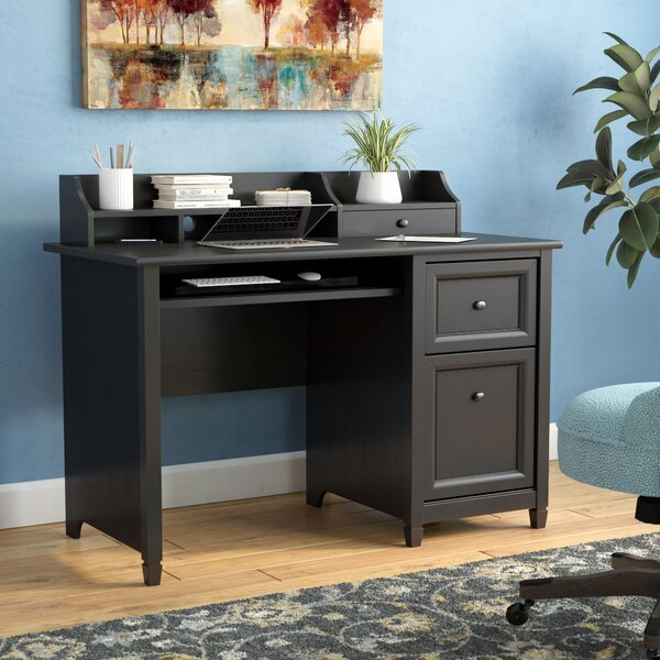 Lamantia Computer Desk with Hutch by Three Posts