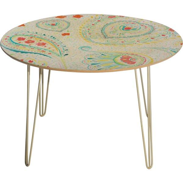 Jacqueline Maldonado Watercolor Paisley Dining Table By Deny Designs