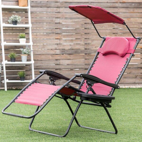 Ipswich Zero Gravity Reclining Chaise Lounge by Freeport Park Freeport Park