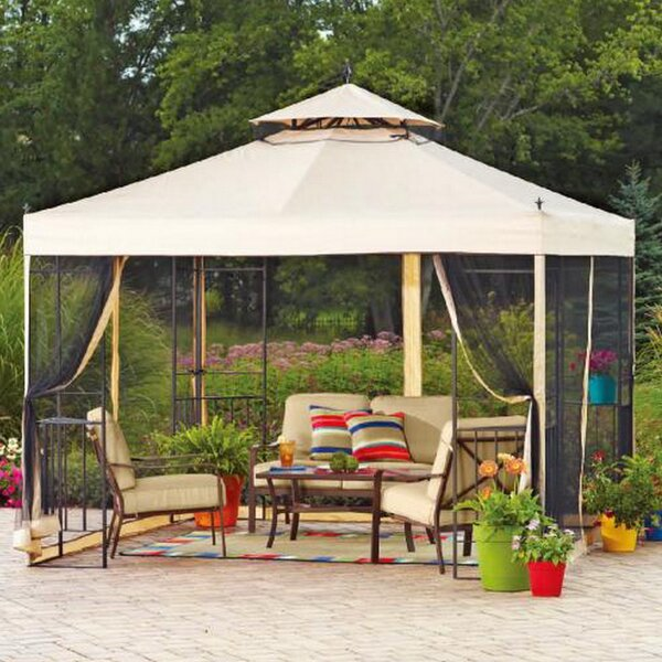 Replacement Mosquito Netting for Athena Gazebo by Sunjoy