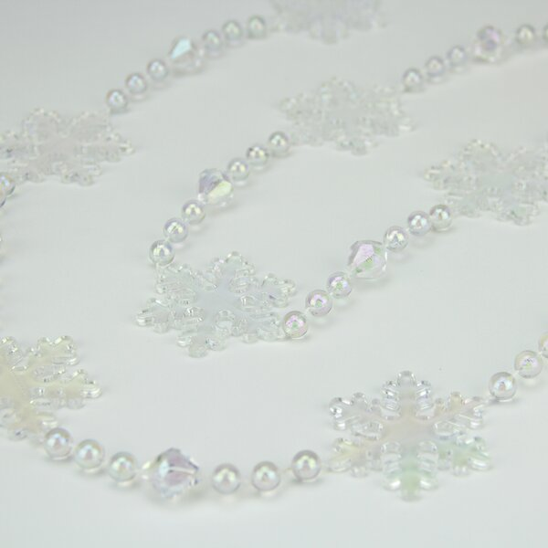 Blizzard Bead Garland by Northlight Seasonal