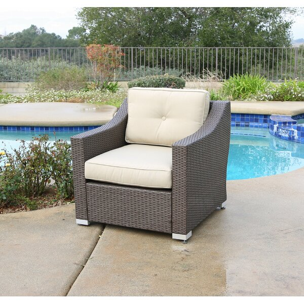 Leib Patio Chair with Cushion by Latitude Run