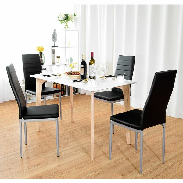 Giblin Elegant Upholstered Dining Chair (Set of 4) by Orren Ellis