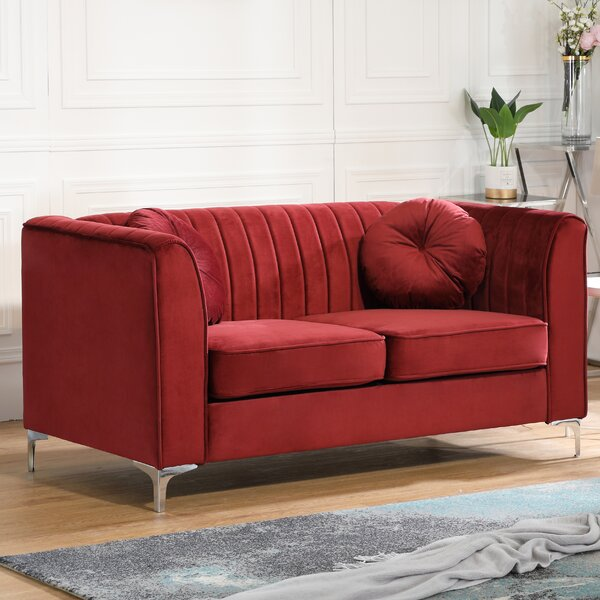 High-quality Adhafera Loveseat by Mercer41 by Mercer41