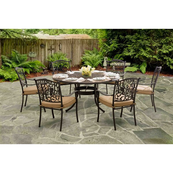 Legacy 7 Piece Dining Set with Cushions by Sunjoy