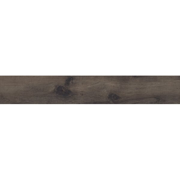 Country River Moss 8 x 48 Porcelain Wood Look Tile in Brown by MSI