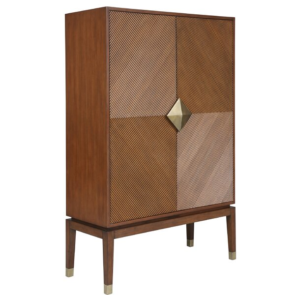 Louann Tall 2 Door Accent Cabinet by Bungalow Rose