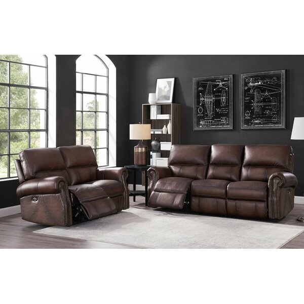 Shop The Fabulous Bassler 2 Piece Reclining Living Room Set by Alcott Hill by Alcott Hill