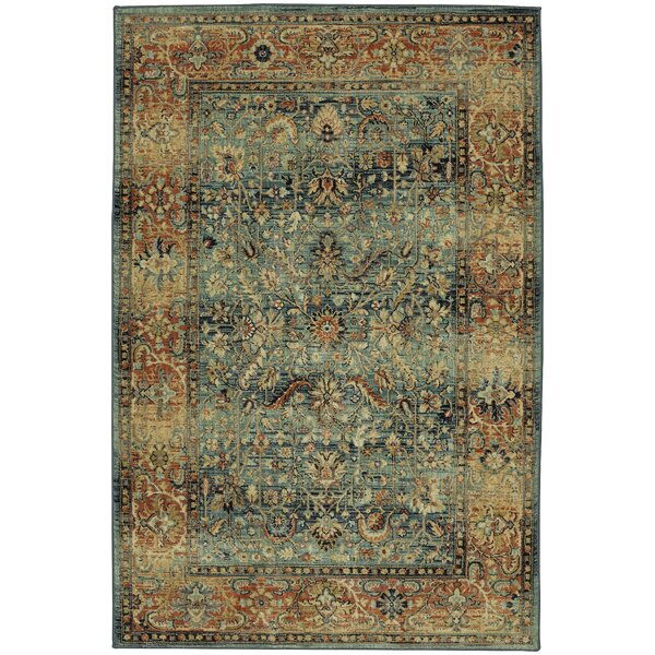 Muller Gray/Beige Area Rug by Darby Home Co