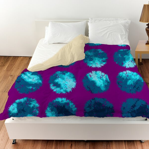 Fuzzy Dots Duvet Cover by Manual Woodworkers & Weavers