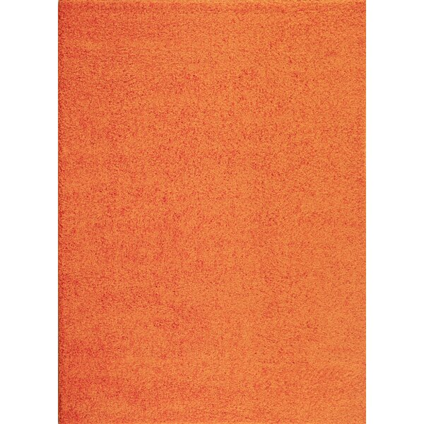 Caressa Orange Area Rug by Zipcode Design