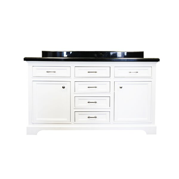 Harkness Modern 60 Double Bathroom Vanity Set by Alcott Hill