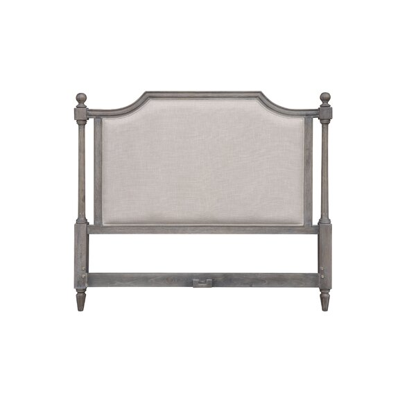 Rosas Queen Upholstered Panel Headboard by Rosalind Wheeler