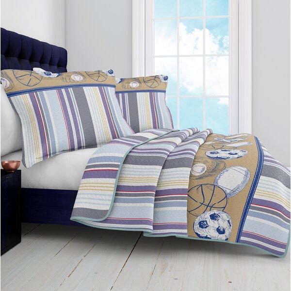 Arlo Reversible Quilt Set by Harriet Bee