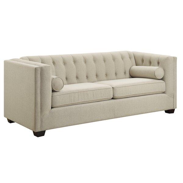 Chesterfield sofa modern  Reddy Modern Chesterfield Sofa & Reviews | Joss & Main