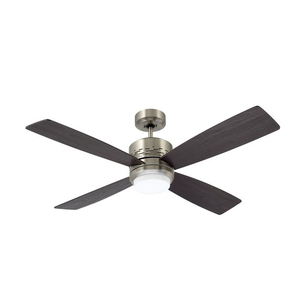 50 Milledgeville 4 Blade LED Ceiling Fan by Red Barrel Studio