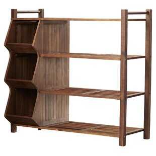 Superbe Outdoor 4 Tier And 3 Compartment Shoe Rack