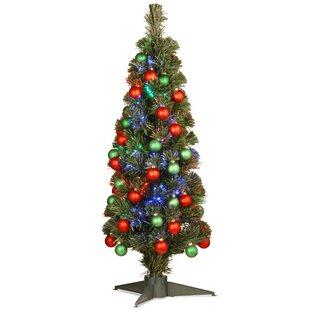 Small Fibre Optic Christmas Trees
